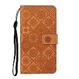 Étui portefeuille en cuir pour Galaxy A70 / A70S 6,7' avec fonction support et porte-cartes...
