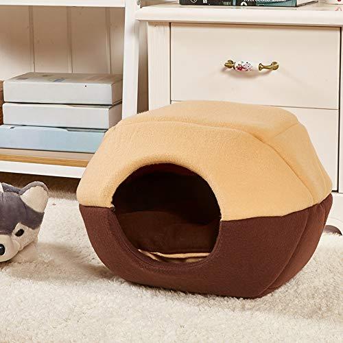 ZXPAG Pet Bed, voor slaapkamer, hal, fluffy, hondenbed voor dieren, wasbaar, huisdieren Yurta zomer kat