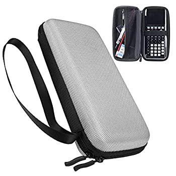 Xberstar Hard EVA Shockproof Carry Case Bag Pouch for Texas Instruments TI-84 Plus CE/Color TI-83 Plus,TI-89 Titanium HP 50G Graphing Scientific Financial Calculators  Gray