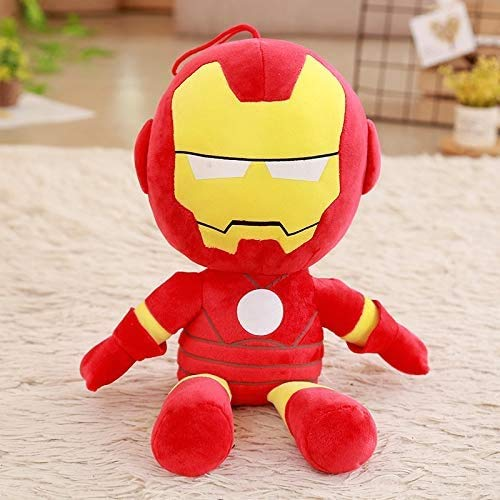 Kreative Anime Avengers Puppe Plüschtys Superman Puppe Ragdoll Kinder (Farbe: B, Größe: 45 cm) Manmiao (Color : B, Size : 35cm)