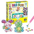 Creativity for Kids Big Gem Diamond Painting Kit - Create Your Own Woodland Forest Friends Diamond Art Stickers and Suncatchers - Diamond Art for Kids