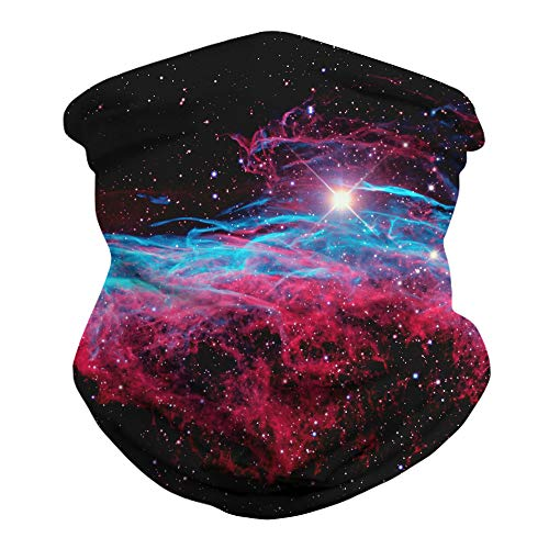 CXL Multifunktionales Kopftuch Sternenhimmel Digitaldruck Outdoor-Fahren Multifunktionales Kopftuch ohne Kappe