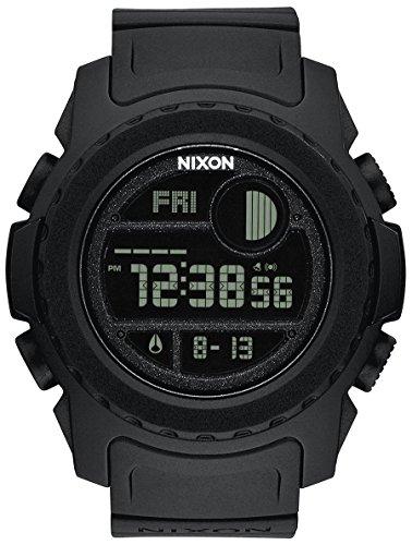 Nixon Unit Reloj para Hombre Digital de Cuarzo con Brazalete de Silicona A921001
