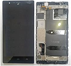 ePartSolution_OEM ZTE Lever LTE Z936L LCD Display Digitizer Touch Screen + Frame Assembly Black Replacement Part USA Seller