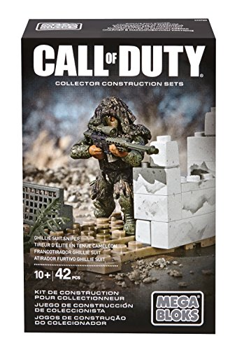 Mega Bloks 6852 - Call of Duty Ghilly Suit Sniper