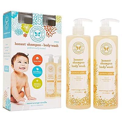 Honest Foaming Hand Soap, Mandarin, 8.5 Ounce - 2 Pack