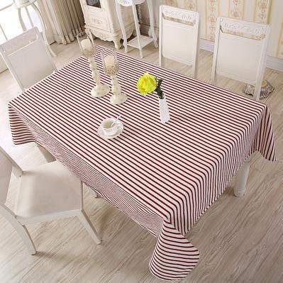 XXDD Patrón de celosía Innovador Mantel de Estilo Fresco y Limpio decoración Mesa de Comedor para el hogar Mantel Lavable A15 135x180cm