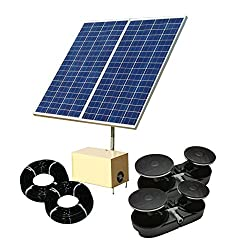 solar powered pond aerators for large ponds