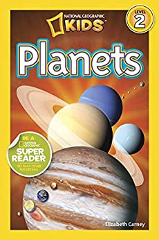 National Geographic Readers: Planets by [Elizabeth Carney]