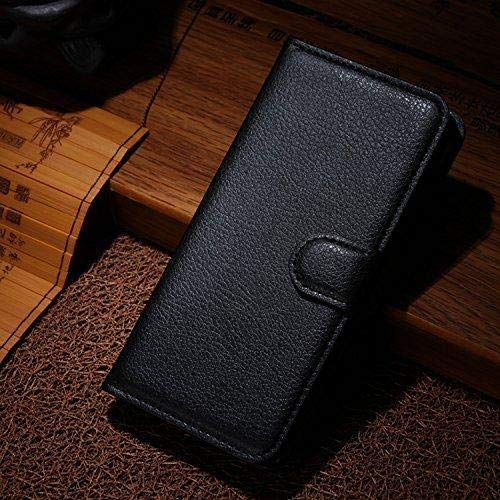 Cover Nokia 2.1, Custodia d'Affari in Pelle Basamento Protettiva Case Cover per Nokia 2.1 [Nero]
