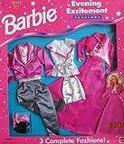Barbie Evening Excitement Fashions – 3 OUTFITS for Barbie & Ken (1995 Arcotoys, Mattel)