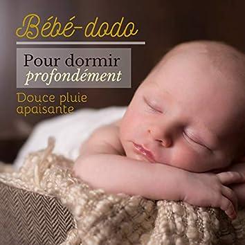 Bébé-dodo pour dormir profondément: douce pluie apaisante