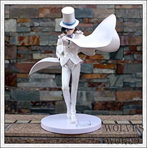 KIJIGHG Figura de Detective Conan Kid The Phantom Thief Kaito Kuroba Figura Figura de Anime Figuras de accin Modelo de Personaje de Anime