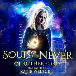 Souls of the Never audiobook cover art