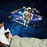 Astronautas espaciales en 3D Habitación de los niños de la pared Adorno para el hogar Barra de polietileno Pvc Móvil en la pared