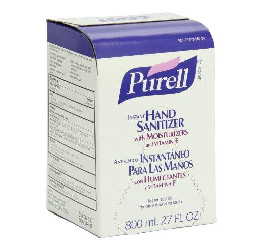 PURELL Original Instant Hand Sanitizer, 800 mL Bag-in-Box Refill