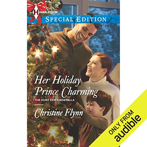 Her Holiday Prince Charming audiobook cover art