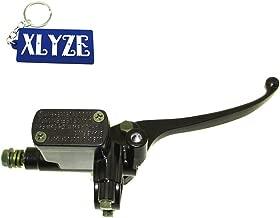 Universal Motorcycle Embrayage De Frein Ma/ître-Cylindre R/éservoir Leviers Rouge 22mm Qiilu 1 Paire 7//8 \