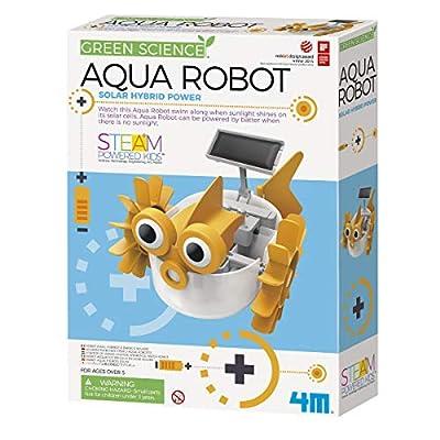 4M Aqua Fish Solar Hybrid Power Robot Kids Science Kit