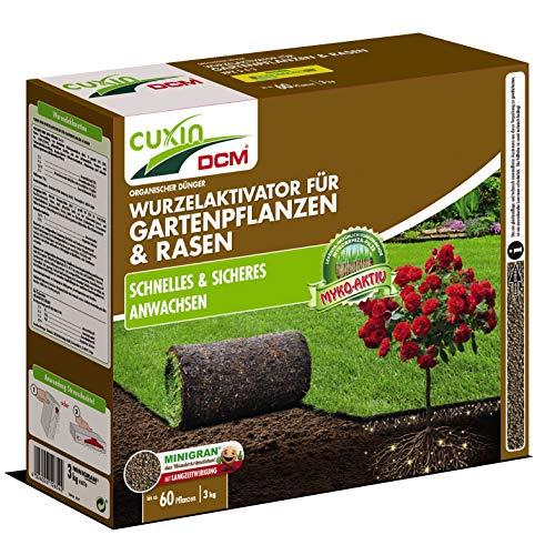 Cuxin DCM Wurzelaktivator für Gartenpflanzen & Rasen 3 kg