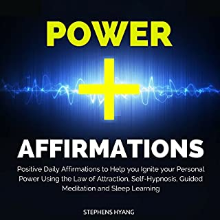 Power Affirmations audiobook cover art