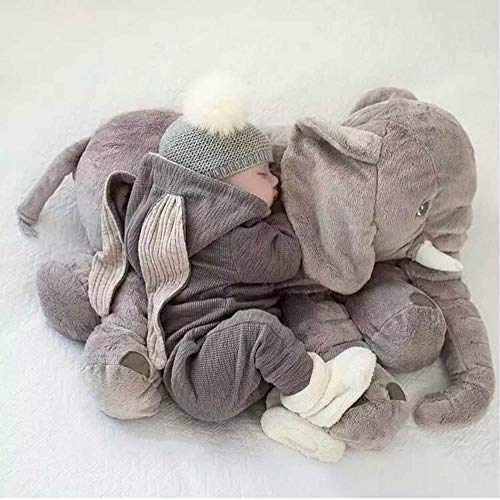 Kid Sleeping Back Kissen Cartoon 65cm große Plüsch Elefant Gefüllte Baby Kissen Elefant Puppe Baby Kissen Bettwäsche Boy Girl Geschenk