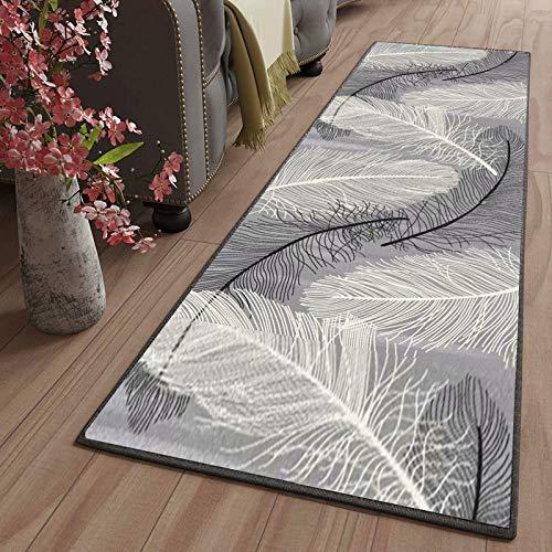 LYYK tappeti passatoia corridoio Lavabile Antiscivolo Antimacchia Durevole Motivo Geometrico Tappeto Runner corridoio per Soggiorno Camera da Letto Scale del corridoio, 80x140cm Color18