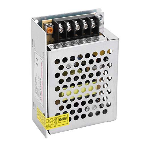 DC12V Interruptor de Aleación de Aluminio Adaptador de Controlador de Fuente de Alimentación Pantalla LED Barra de Luz Impresora 3D Equipo de Bajo Voltaje(S-100-12(12V/8.5A/100W)AC100-240V)