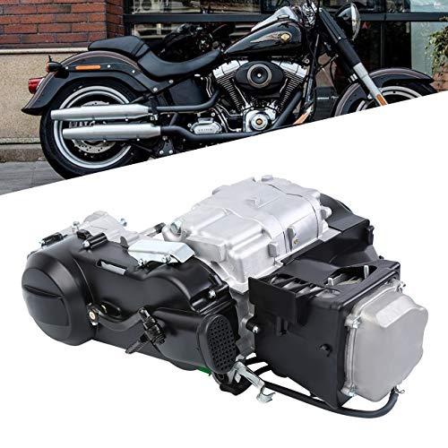 Ambienceo 150cc GY6 Single Cylinder 4-Stroke Motor Short Case Engine for Scooter ATV Go Kart Dirt Bike with Kick Start Lever Carburetor CDI Starter Solenoid Coil Short Case