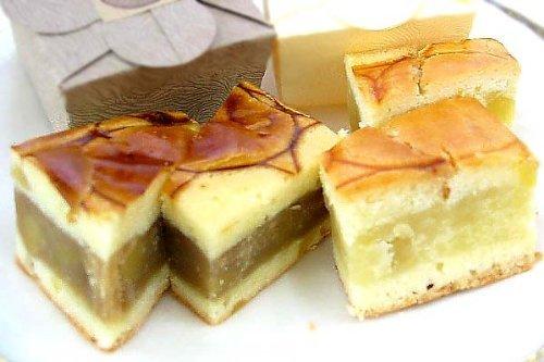 マロンケーキ(プレーンとコーヒー味のセット) (ご自宅用(包装なし))