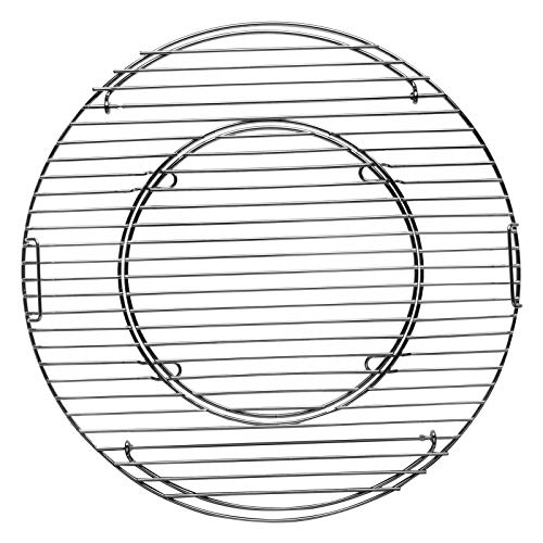 Tepro–Parrilla, Principal somier (47cm Sistema Redondo, Chrome, 43,5x 43,5x 4,5cm, 8569