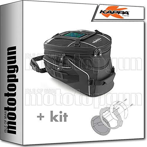 kappa tankrucksack ra311r 16 lt tanklock + befestigungsring kompatibel mit kawasaki versys-x 300 2019 19 2020 20