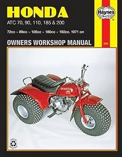 Honda ATC 70, 90, 110, 185 & 200, 1971 on (Owners Workshop Manual) (Haynes Repair Manuals)