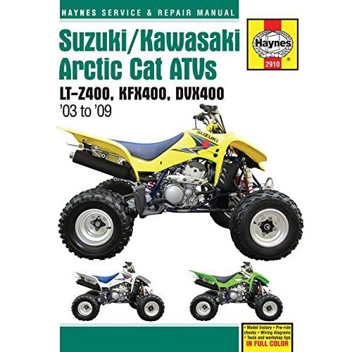 arctic cat 2006 atv dvx 400 factory service manual