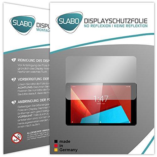 Slabo 2 x Bildschirmschutzfolie für Vodafone Tab Prime 7 Bildschirmschutz Schutzfolie Folie No Reflexion|Keine Reflektion MATT - Entspiegelnd Made IN Germany