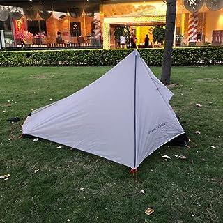 Oudoor ultralätt campingtält 1 person professionellt 15 D/20 D nylon silikon stånglöst tält lätt camping