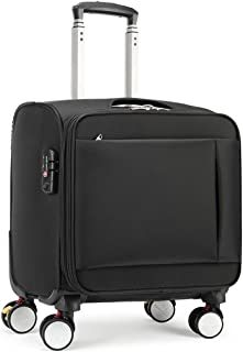 GLJJQMY Trolley Case 16 Inch 18 Inch Suitcase Oxford Cloth Small Suitcase Small Business Boarding Case Trolley case (Size : 16inch)