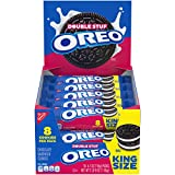 This package contains 10 individually wrapped 4.0 oz king size snack packs of OREO Double Stuf Golden Sandwich Cookies (8 cookies per snack pack Packable, snackable, and forever dunkable, the Double Stuf OREO makes for the perfect afternoon pick-me-u...