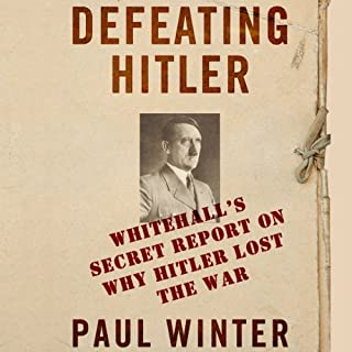 Defeating Hitler audiobook cover art