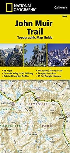 John Muir Trail Topographic Map Guide (National Geographic Trails Illustrated Map) by National Geographic Maps - Trails Illustrated (2014-09-26)
