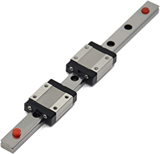 ReliaBot 200mm MGN12 Linear Rail Guide with 2pcs MGN12C Carriage Block for 3D Printer and CNC Machine