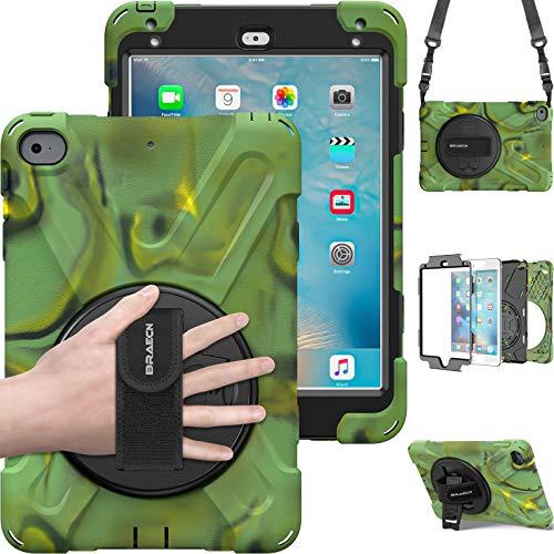 BRAECN iPad Mini 4 Case, iPad Mini 5 Case, Rugged Protective Case with 360...