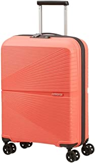 American Tourister Airconic Hardside Spinner Suitcase, 55 Centimeter, Living Coral