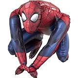 amscan 3819401 Spider-Man Folienballon Sitter Spiderman, Mehrfarbig
