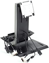 Genuine Dell 73DH9 All-In-One (AIO) Monitor Screen Base Stage Platform Pedestal Station Stand 1KAIO-01, For The Dell Optiplex 990/790 Small Form Factor System (SFF), Compatible Part Number FDXW3, Supports (But Is Not Limited To The Following Monitors): Dell P190S, 1909W, P2210, Built-In Handle Enables Transport of Fully Configured Stand, One (1) Cable Cover Is Included
