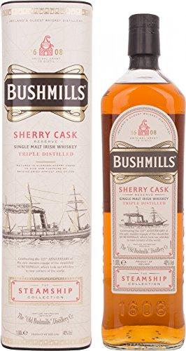 Bushmills Sherry Cask Reserve Steamship Collection Scotch di Malto Singolo - 1000 ml