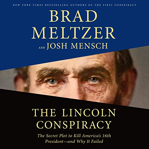 The Lincoln Conspiracy audiobook cover art
