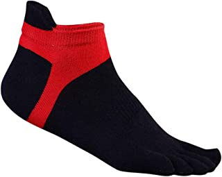 Calcetines del Dedo del pie Dama separada algodón poliéster Spandex Tobillo calcetería Deportes Gimnasio Zapatos