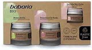 Babaria Estuche cuidado facial mujer BIO compuesto por una Crema Hidratante de Dia 50ml una Crema Rejuvenece de Noche 5...