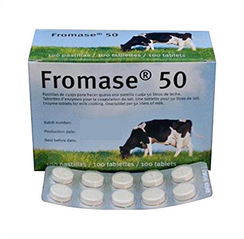 Vegetariana compresse non contengono prodotti di origine animale Senza glutine/non OGM Uso domestico e professionale Sciogliere la compressa in un po 'di acqua fresca e pulita e aggiungere alla il latte. Affidabile ogni volta